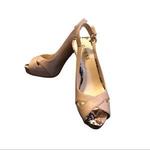 GUESS Slingback Heel Sandal